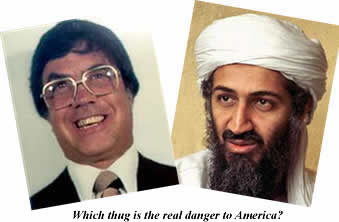 "Joey ""the Clown"" Lombardo vs. Osama ""the Terrorist"" bin-Laden, you decide!"