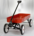 Red Radio Flyer Wagon